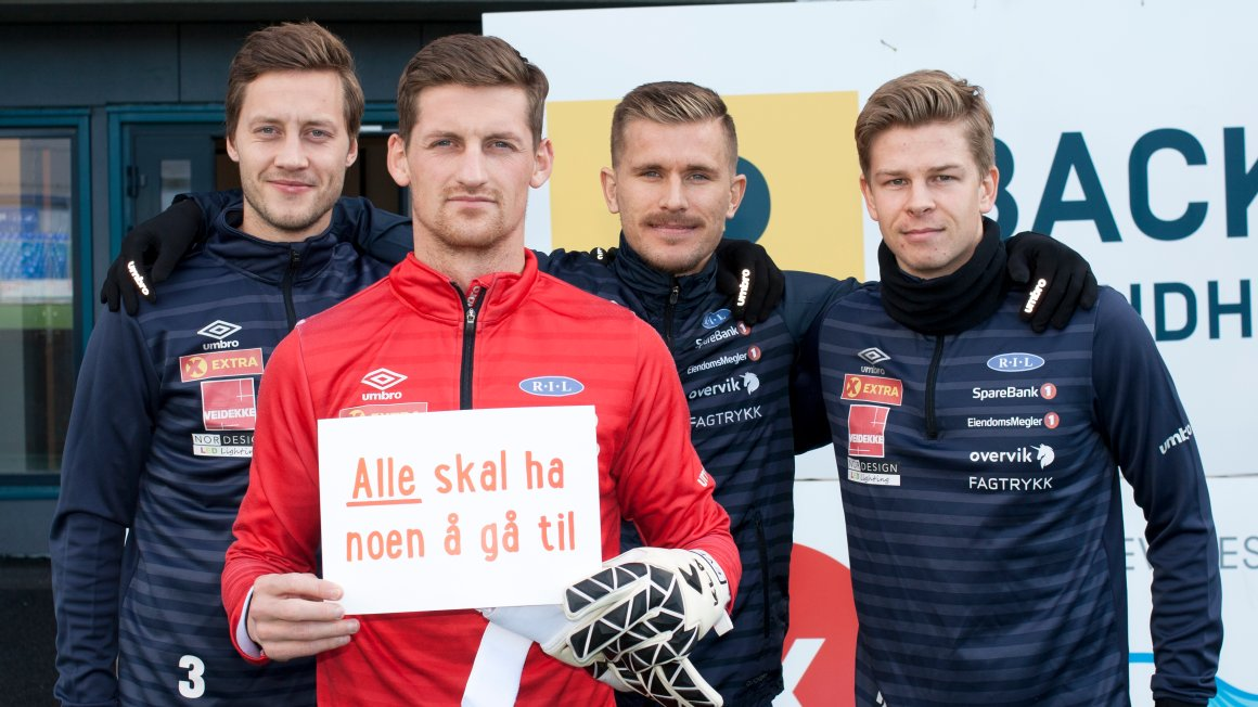 Ranheim støtter årets TV-aksjon